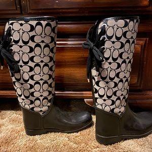 Shoes - Coach Rain Boots